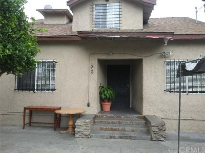 Los Angeles Multi Family Home For Sale: 850 W 43rd Place