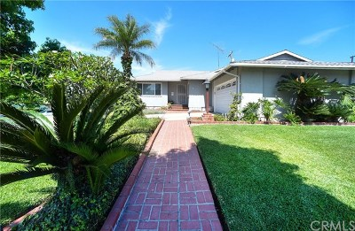 La Habra Single Family Home For Sale: 511 Gerry Street