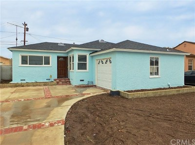 Gardena Single Family Home For Sale: 2517 W 144th Street