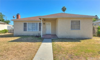 Pomona Single Family Home For Sale: 454 W McKinley Avenue