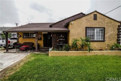 Norwalk Single Family Home For Sale: 12518 Roseton Avenue