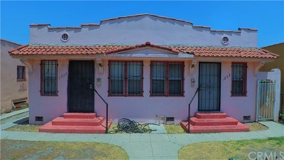 Los Angeles Multi Family Home For Sale: 1233 W 56th Street