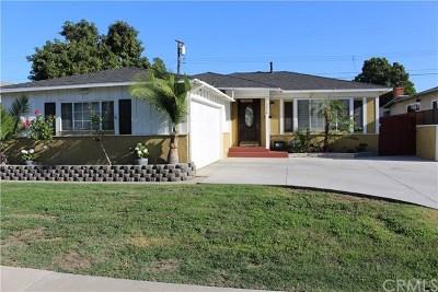 Norwalk Single Family Home For Sale: 10828 Hopland Street
