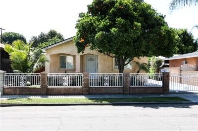 Lynwood Single Family Home For Sale: 11158 Virginia Avenue