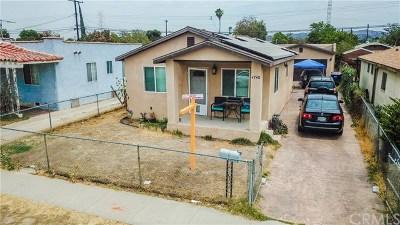 Pico Rivera Single Family Home For Sale: 4740 Fir Street