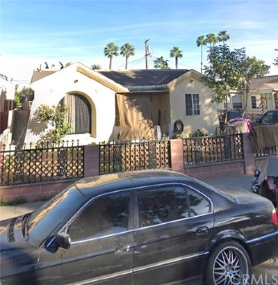 Compton Single Family Home For Sale: 1210 N Spring Avenue