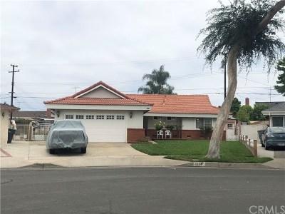 La Habra Single Family Home For Sale: 1260 Nanwood Street