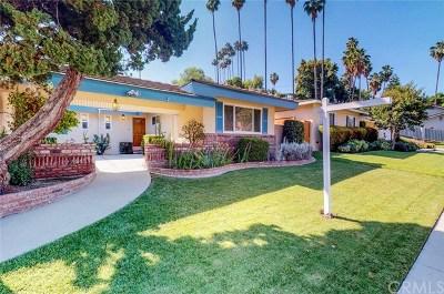 Fullerton Single Family Home Active Under Contract: 825 Glenhaven Avenue