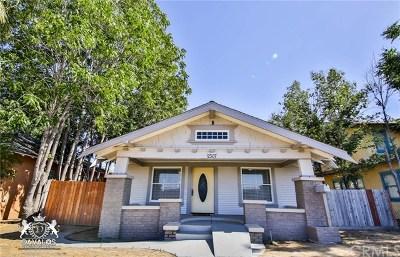 Single Family Home For Sale: 2307 California Avenue