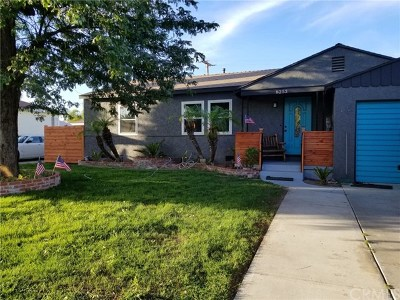 Downey Single Family Home For Sale: 8253 Quoit Street