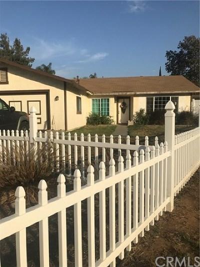 Riverside Single Family Home For Sale: 3564 Boston Circle