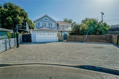 Whittier Single Family Home For Sale: 15100 Mystic Street