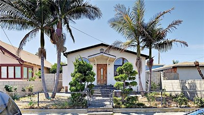 San Pedro CA Single Family Home For Sale: $529,900