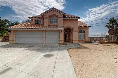 Victorville Single Family Home For Sale: 13186 Blue Mesa Court
