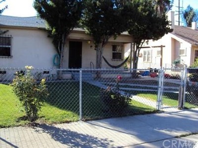 San Bernardino Multi Family Home For Sale: 1292 N Berkeley Avenue