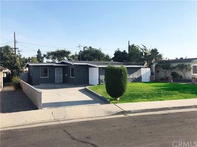 La Habra Single Family Home For Sale: 970 W 3rd Avenue
