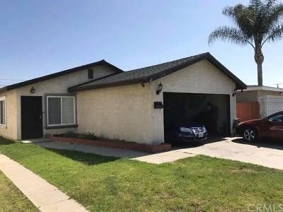 Long Beach Single Family Home For Sale: 1714 E Rogers Street