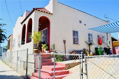 East Los Angeles CA Multi Family Home For Sale: $525,000