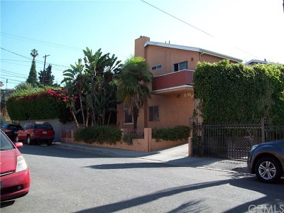 Los Feliz Multi Family Home For Sale: 1646 N Hoover Street