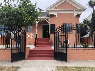 Los Angeles CA Single Family Home For Sale: $574,999