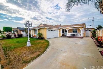 Bellflower Single Family Home For Sale: 10473 Nichols Street
