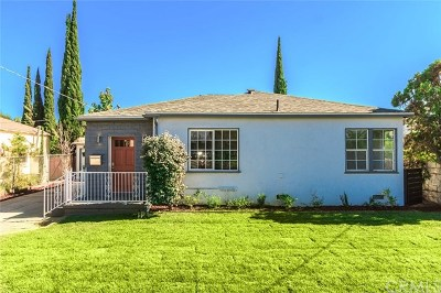 North Hollywood Single Family Home For Sale: 11140 Vanowen Street