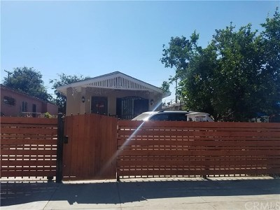 Los Angeles Single Family Home For Sale: 8721 Beach Street
