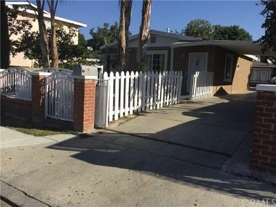 El Monte Multi Family Home For Sale: 12129 Felipe Street
