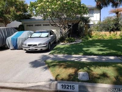 Cerritos Single Family Home For Sale: 19215 Pires Avenue
