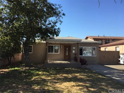 Bell Single Family Home For Sale: 6719 King Avenue