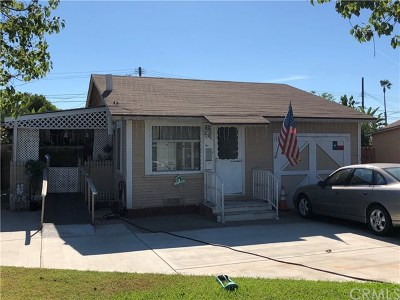 Anaheim Single Family Home For Sale: 871 S Olive Street