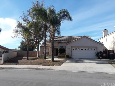 Moreno Valley Single Family Home For Sale: 13353 Lakeport Drive