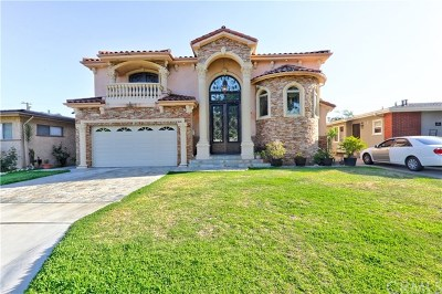 Downey Single Family Home For Sale: 7606 Finevale Drive