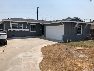 Placentia Single Family Home For Sale: 110 Sunset Drive