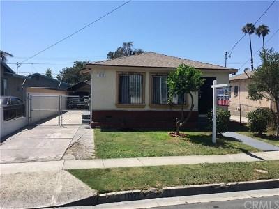 Lynwood Single Family Home For Sale: 11121 Bellinger Street