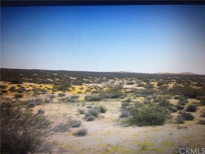 Barstow CA Residential Lots & Land For Sale: $40,000