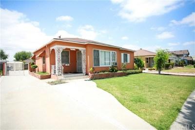 Bellflower Single Family Home For Sale: 9624 Glandon Street
