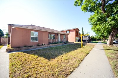 Lynwood Single Family Home For Sale: 11371 Gertrude Drive