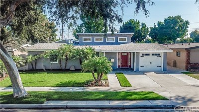 Long Beach Single Family Home For Sale: 6841 E Bacarro Street