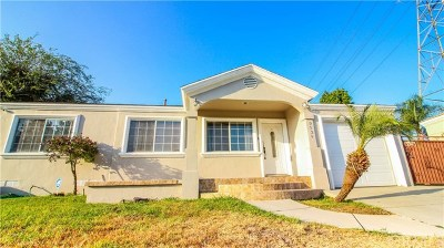 Pico Rivera Single Family Home For Sale: 9929 Terradell Street