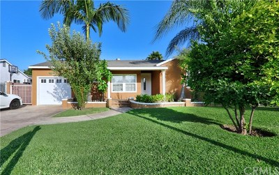 Downey Single Family Home For Sale: 9022 Passons Boulevard