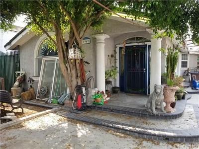 Compton Single Family Home For Sale: 1940 E Rosecrans Avenue