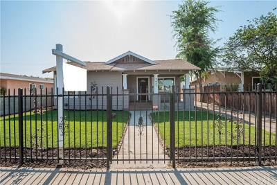 Los Angeles Single Family Home For Sale: 7421 Walnut