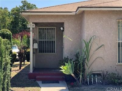 Bellflower Single Family Home For Sale: 9734 Van Ruiten Street