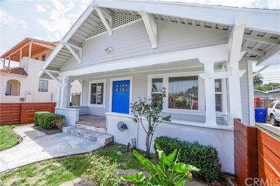 Los Angeles Single Family Home For Sale: 1618 W 38th Street
