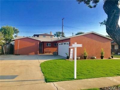 La Habra Single Family Home For Sale: 330 Penmar Avenue