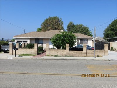 Chino Single Family Home For Sale: 11796 Roswell Avenue