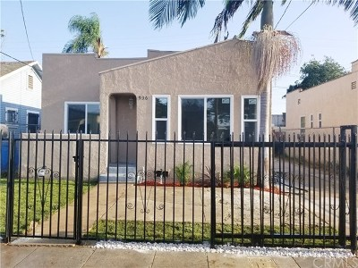 Compton Single Family Home For Sale: 936 W Magnolia Street