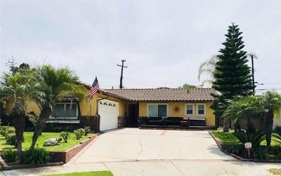 La Mirada Single Family Home For Sale: 15780 Harshaw Place