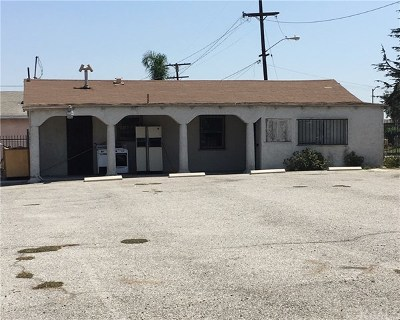 Los Angeles Single Family Home Active Under Contract: 12134 S Main Street